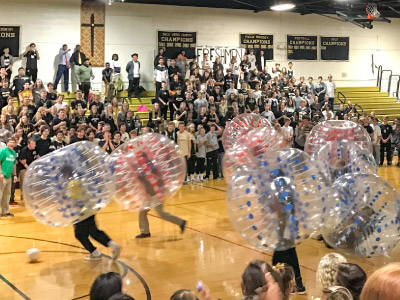 Wonderfly Games High School Gym BubbleBall