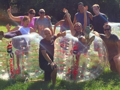 BubbleBall Team Building for Small Groups