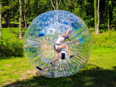 Giant Hamster Ball Birthday Party Ideas