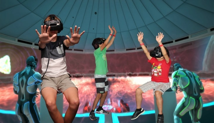 Virtual Reality VR Teen Birthday Party